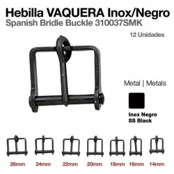 HEBILLA VAQUERA INOX NEGRO...