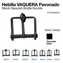 HEBILLA VAQUERA PAVONADO 12uds