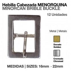 HEBILLA CABEZADA MENORQUINA...