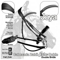 CABEZADA ZALDI EXTRA JOYA...