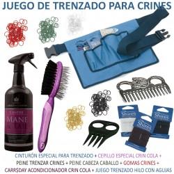 JUEGO DE TRENZADO PARA CRINES