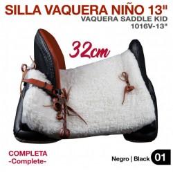"SILLA VAQUERA NIÑO 13""..."