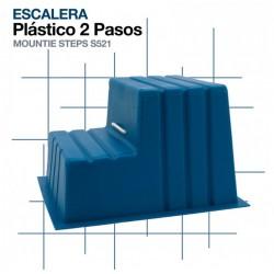 ESCALERA PLÁSTICO 2 PASOS...