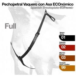 PECHOPETRAL VAQUERO CON ASA...