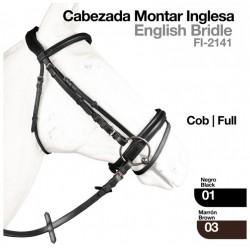 CABEZADA MONTAR INGLESA...