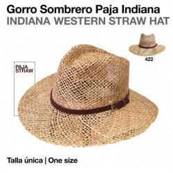 GORRO SOMBRERO PAJA INDIANA...