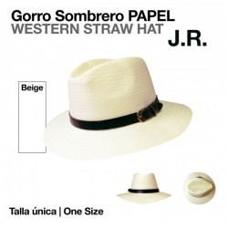 GORRO SOMBRERO PAPEL J.R....
