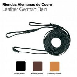 RIENDAS ALEMANAS CUERO 456