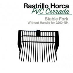 RASTRILLO HORCA PVC CERRADA...
