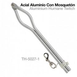 ACIAL ALUMINIO CON MOSQUETÓN TH-5027-1