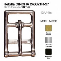 HEBILLA CINCHA INOX 12uds...