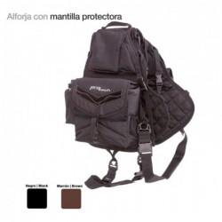 ALFORJA CON MANTILLA PROTECTORA AC00118