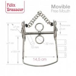 BOCADO FELIX BRASSEUR MOVIBLE 004H12 14.5cm