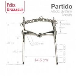 BOCADO FELIX BRASSEUR PARTIDO 004M01 14.5cm