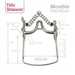 BOCADO FELIX BRASSEUR MOVIBLE 004H15 14.5cm
