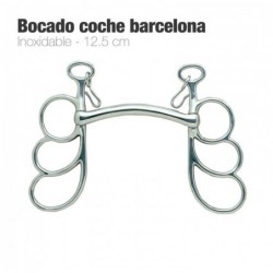 BOCADO COCHE BARCELONA INOX. 212692 12.5cm