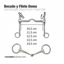 BOCADO Y FILETE INOX DOMA 213141