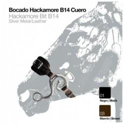 BOCADO HACKAMORE B14 CUERO