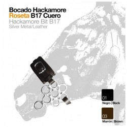 BOCADO HACKAMORE ROSETA B17 CUERO