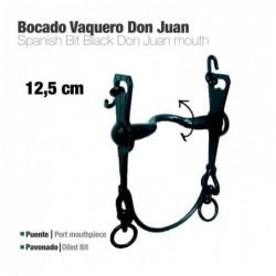 BOCADO VAQUERO DON JUAN 2A PAVONADO 12.5cm
