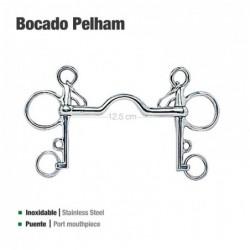 BOCADO PELHAM PUENTE INOX 2125071