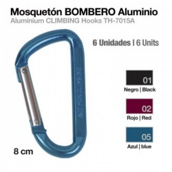 MOSQUETÓN BOMBERO ALUMINIO...