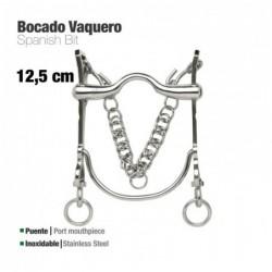 BOCADO VAQUERO INOX 217971 12.5cm