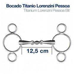 BOCADO TITANIO LORENZINI PESSOA 3-PIEZAS