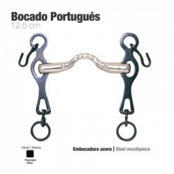 BOCADO PORTUGUÉS EMBOCADURA ACERO 12.5cm