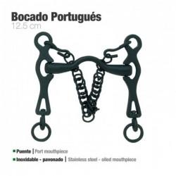 BOCADO PORTUGUÉS INOX PAVONADO 217981MK
