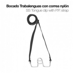 BOCADO TRABALENGUAS CON CORREA NYLON 21414+P