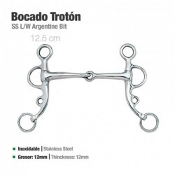 BOCADO TROTÓN INOX 21505 12.5cm