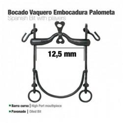 BOCADO VAQUERO B/CURVA EMBOCADURA PALOMETA 12.5cm