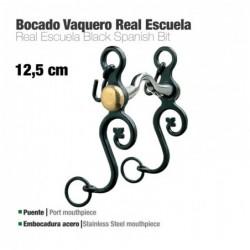 BOCADO VAQUERO REAL ESCUELA EMBOCADURA ACERO 12.5c