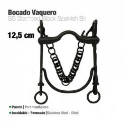 BOCADO VAQUERO PAVONADO INOX 217971SMK 12.5cm