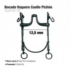 BOCADO VAQUERO B/CURVA CUELLO PICHÓN 12.5cm