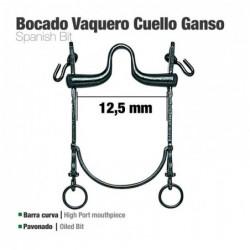 BOCADO VAQUERO B/CURVA CUELLO GANSO 12.5cm