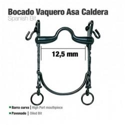 BOCADO VAQUERO B/CURVA ASA CALDERA 12.5cm