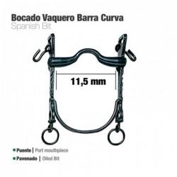 BOCADO VAQUERO B/CURVA PUENTE PAVONADO 11.5cm