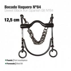 BOCADO VAQUERO ECO. Nº84 PAVONADO 12.5cm