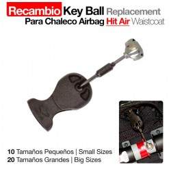 CHALECO AIRBAG HIT AIR KEY...
