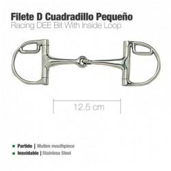 FILETE D INOX CUADRILLO PEQUEÑO 21966L 12.5cm