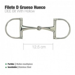 FILETE D INOX GRUESO HUECO 21968