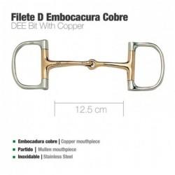 FILETE D INOX EMBOCADURA COBRE 21576