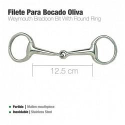 FILETE PARA BOCADO OLIVA INOX 219511