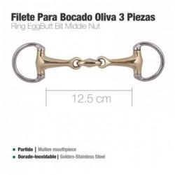FILETE PARA BOCADO OLIVA 3 PIEZAS D83