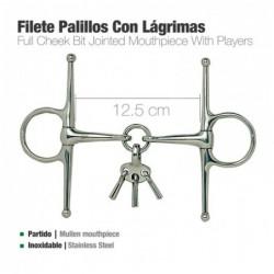 FILETE PALILLOS CON LÁGRIMAS INOX 21535 12.5cm