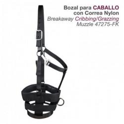 Bozal Para Caballo C/correa Nylon 47245-Fk