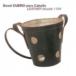 BOZAL CUERO PARA CABALLO