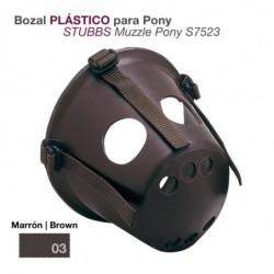 BOZAL PLÁSTICO PARA PONY STUBB S7523